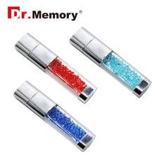 Crystal USB 2.0 Flash Drives Pen Drive 4G 8G 16G 32GB Diamond Memory stick