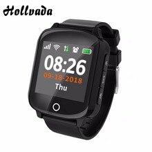 D200 Смарт-часы gps+ LBS+ Wi-Fi позиционирование анти-потеря браслет пульсометр кровяное давление smartwatch IP68 фитнес-трекер часы