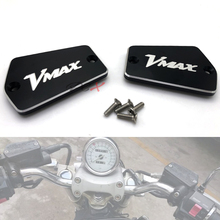 Motorcycle Accessories Front Brake Clutch Master Cylinder Fluid Reservoir Cover Cap For Yamaha V-MAX VMAX 1200 1985-2007