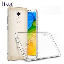 IMAK Crystal Case для Xiaomi Redmi 5 плюс xiomi redmi5plus жесткий чехол телефона прозрачный Пластик мобильный смартфон принципиально