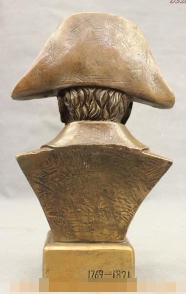"S0894 12"" Chinese Copper Technics France King Militarist Napoleon Bronze Statue|statue of liberty kids|statue carving|statue lion - title="