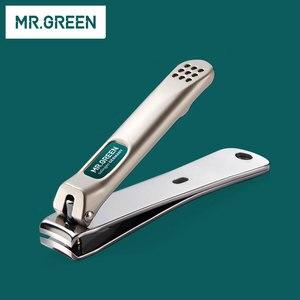 Image 4 - MR. สีเขียว 6 ใน 1 Nail Clipper ชุดเล็บ Pedicure Cutters กรรไกรแหนบมีด Professional เล็บชุดเครื่องมือ