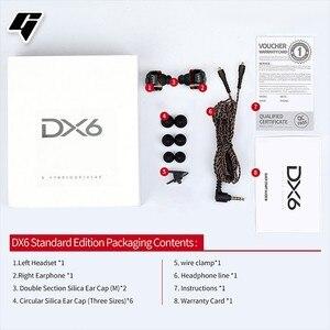 Image 5 - DX6 Auriculares deportivos con cable y Bluetooth, audífonos deportivos con cable tipo C y graves estéreo para Huawei y xiaomi