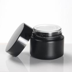 100 г Черный янтарь баночка для косметического крема многоразового Пустой ream Jar с стекло внутренняя для ухода за кожей крем/косметика крем F1874