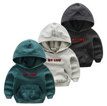 2016 new fall children 's Hooded sweater children' s hoodies jacket boy sweater