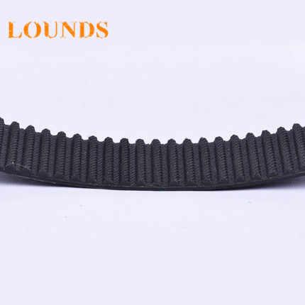 T5mm Pitch 122 Teeth 15T5//610 Timing Belt610mm Length 15mm Width