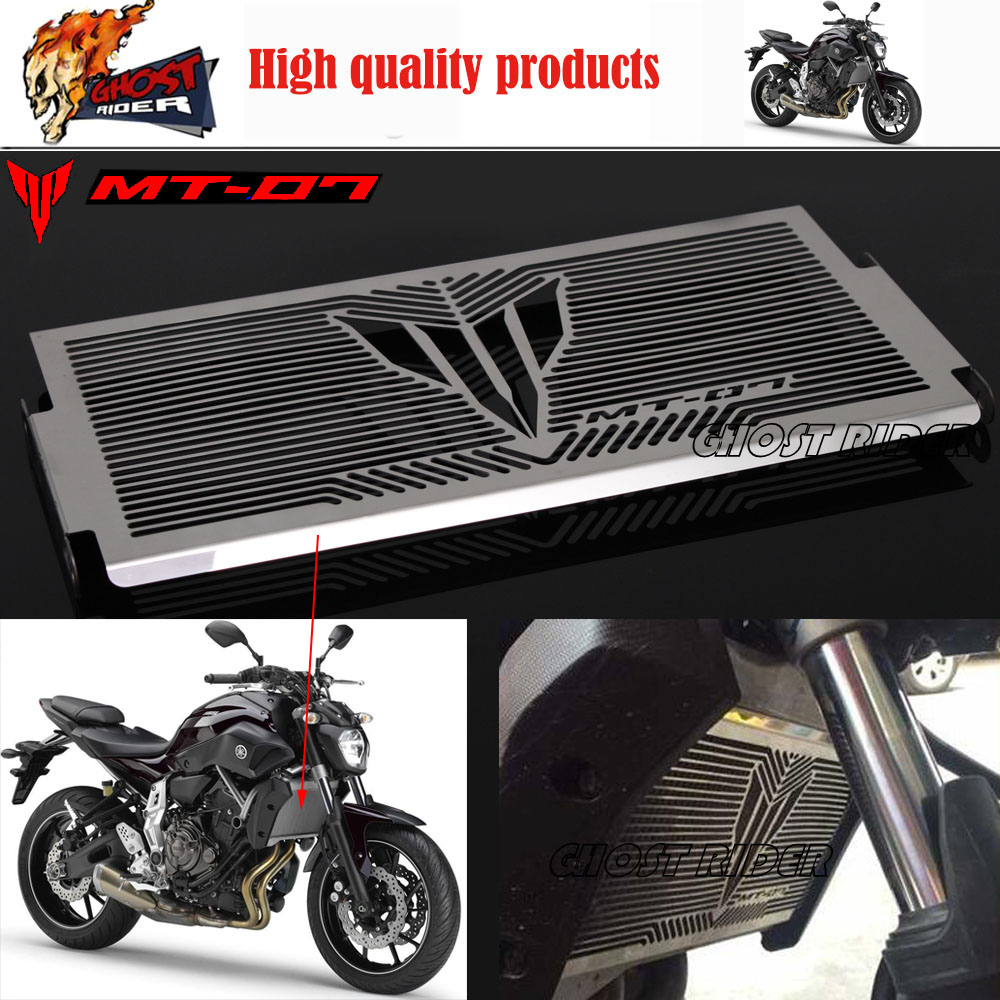 Se ajusta para yamaha mt07 mt-07 fz-07 2014-2015 accesorios de motos radiador pr