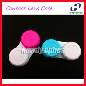 100 шт., оптовые контактные линзы, футляр для контактных линз, бесплатная доставка