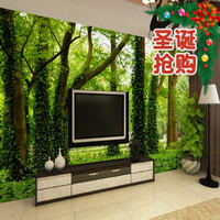 Art Stickers Mural Personalized Customize 3d Stereo Big Tree Sofa Tv Wallpaper Home Decor