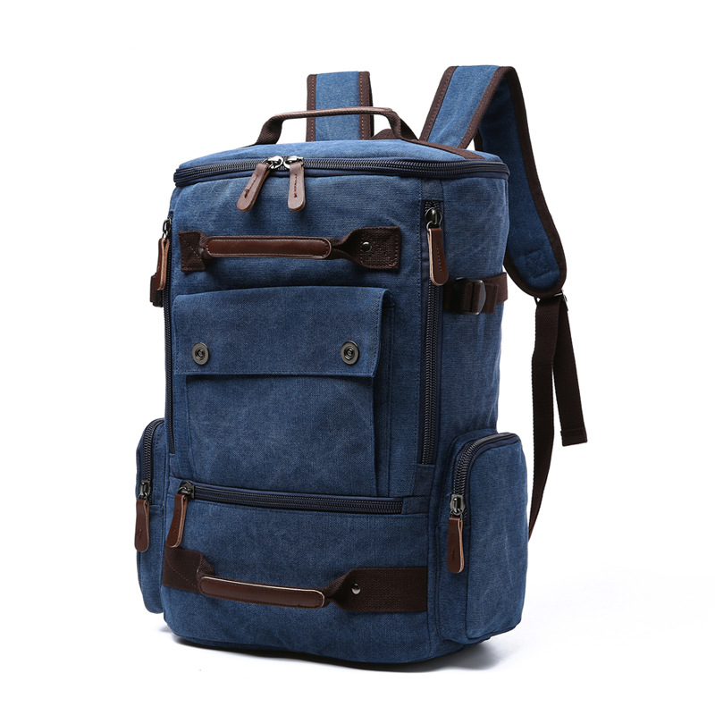 Men Laptop Backpack 15 Inch Rucksack Canvas School Bag Travel Backpacks For Teenage Male Notebook Bagpack Computer Bags 13 laptop backpack bag school travel national style waterproof canvas computer backpacks bags unique 13 15 women retro bags