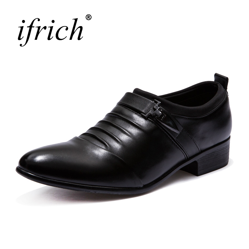Noir Taille Pour Chaussures Glissent Printemps De Blanc Plus Black Des La Ifrich white Hommes Nouveau 48 Mariage Sur Été Formelle Designer D'affaires 38 pXwAccTqaP