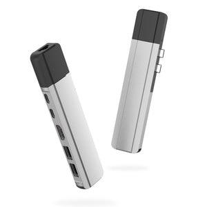 Image 2 - EASYA Thunderbolt 3 Adapter USB Type C Hub naar HDMI Rj45 1000 M USB C Dock met PD Gegevens USB 3.0 port voor MacBook Pro/Air 2018