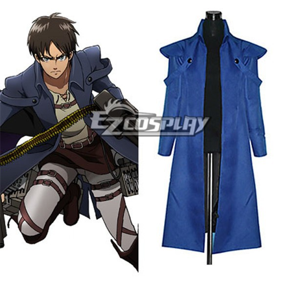 Attack on Titan (Shingeki no Kyojin) The Recon Corp Eren Jager Wings of Counterattack Online Machine Gunner Cosplay Costume E001