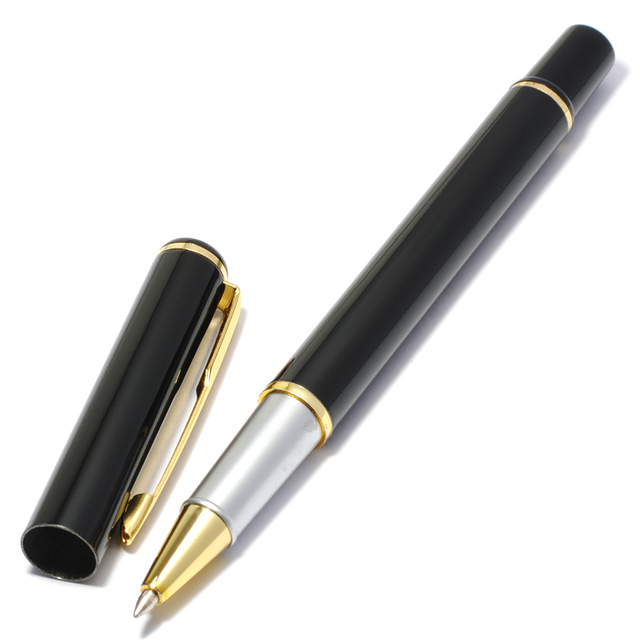 FLYKIT Brand New Gift Pocket-size Pen Office & School Supplies Metal Pen Pencil Writing Supplies Ballpoint Pens Material Escolar