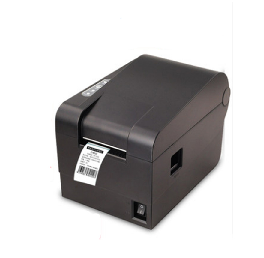 2016 new high quality clothing tag 58mm Thermal barcode sticker printer Qr code the non-drying label printer