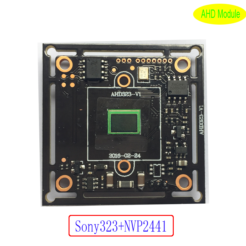 2.0M 1080P 1/2.9 Sony IMX323 CMOS sensor+Nextchip2441 CCTV AHD/TVI/CVI/CVBS camera module board support IR cut night vision 4 in 1 ir high speed dome camera ahd tvi cvi cvbs 1080p output ir night vision 150m ptz dome camera with wiper