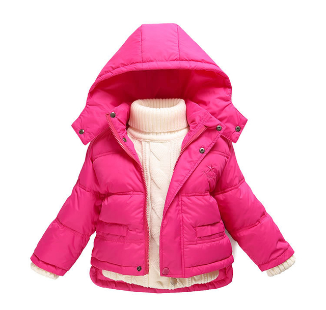 Fashion 80% Eiderdown Baby Girl Winter Coat Newborn Snowsuit For Baby Boys Duck Down Outerwear Clothes For Children Jackets