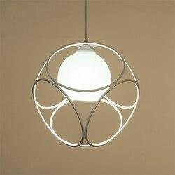 Nowoczesne oświetlenie Led żyrandol lampa wisząca oświetlenie kuchni proste restauracja Hanglamp światła oprawa oprawy oświetleniowe do domu Deco w Wiszące lampki od Lampy i oświetlenie na