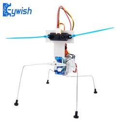 Keywish para arduino inseto robô carros nano 3.0 starter kit robótica aprendizagem kit educacional caule brinquedos para crianças