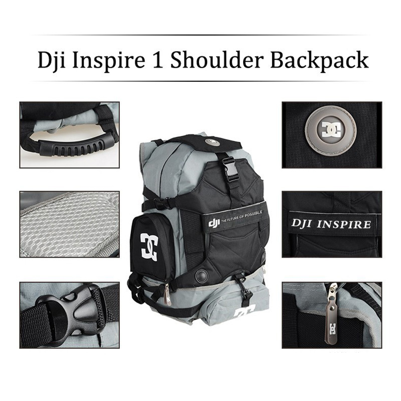 Sunnylife DJI Inspire 1 Shoulder Backpack Case Travel Bag Carry Backpack Waterproof Bag for DJI Inspire 1 Drone FPV крючок am pm inspire двойной a5035664