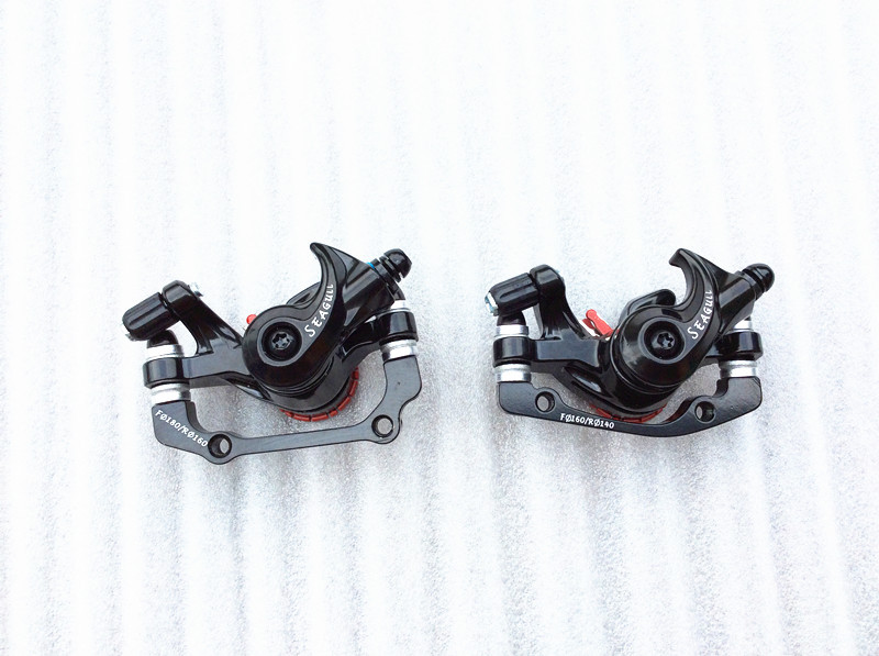 Free shipping one pair of mountain bike disc brakes and a pair AVID G3 160MM disc MTB bicycle accessories aluminum