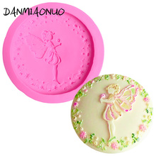 3D Butterfly fairy Silicone Mold Flower Silicone Moulds For Cake Decorating Lace Fondant Mold Baking Tools For Cakes Soap Cutter цена и фото
