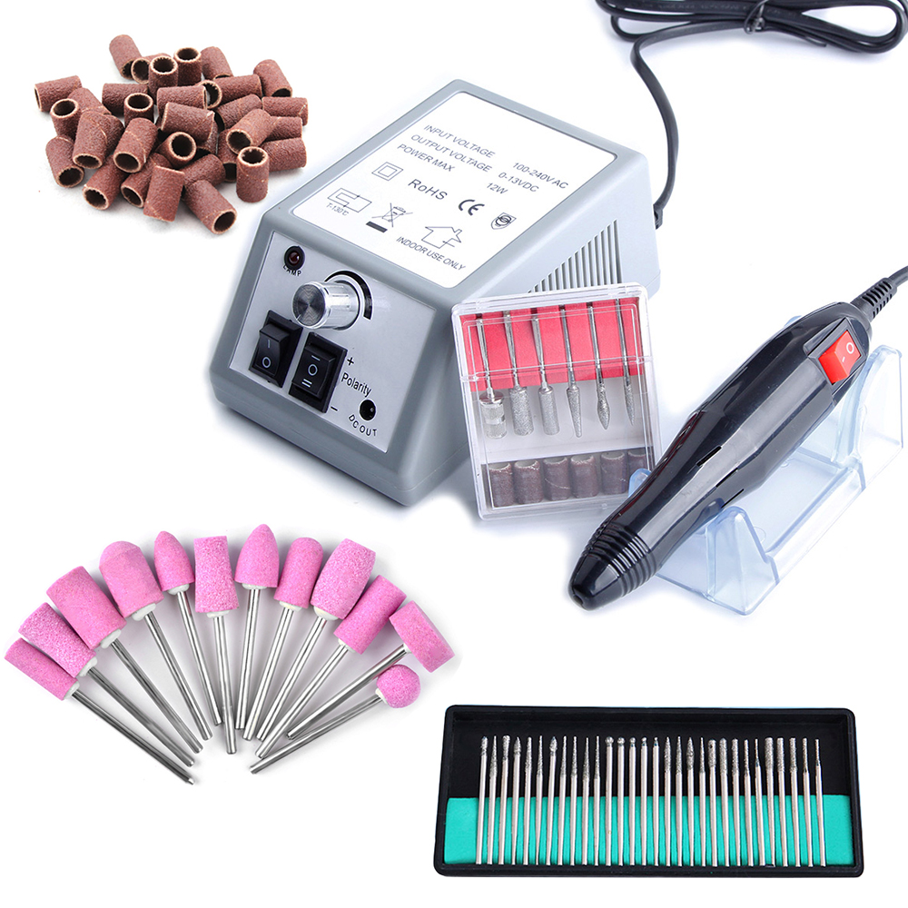 Electric Manicure Machine Nail Polish Remover Nail Drill Bit Tool Gel Manicure Mill Cutter For Removing Varnish Gel Nail Polish