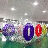 Бесплатная доставка 2019 новый дизайн надувные Зорб водный шар ролики, надувной шар для ходьбы по воде игрушки для бассейна, шарик воды цена
