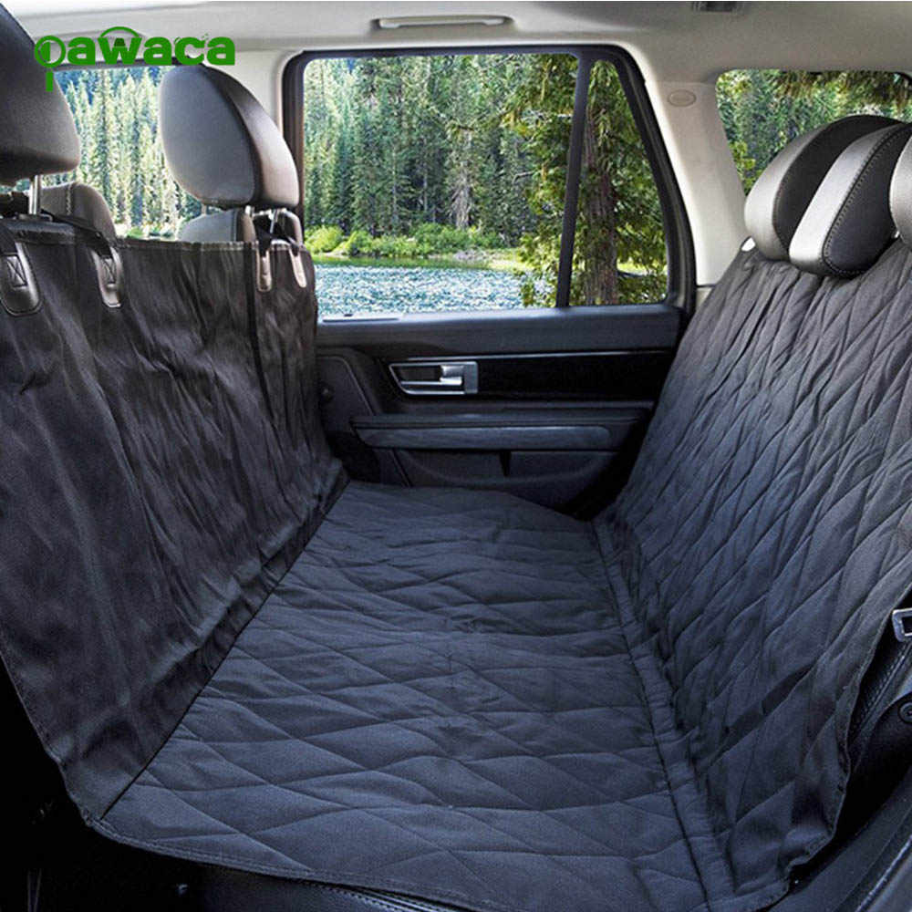 1Pcs Pet Mat Waterproof Dog Car Seat Cover Non Slip Padded Quilted Protector Seat Anchors Travel Hammock Cushion Pet Accessories
