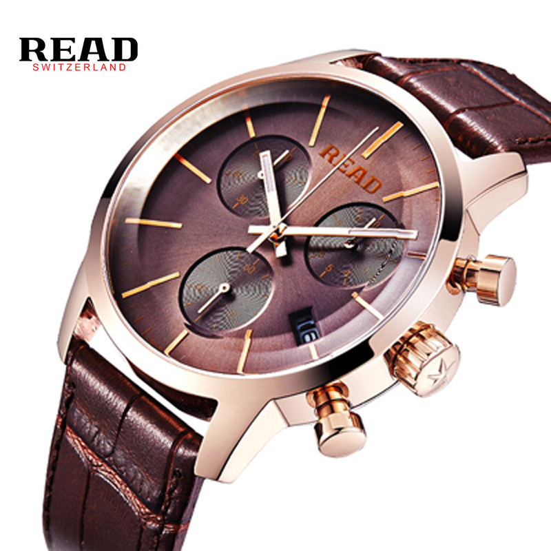 2017 New READ Hot Sale Male Watches Casual Fashion Watch Quartz Watches Men Military Business Sports Watches Dress Clock relogio mance n2 new hot sale fashion casual retro style designer quartz watch denim quartz watches relogio feminino quality gift