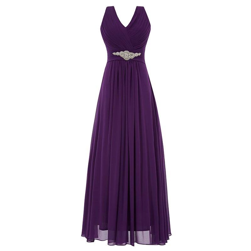Tanpell lång v-halsa klänning billig sexig svart Golvlängd - Särskilda tillfällen klänningar - Foto 5
