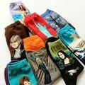 Novedad famosa pintura al óleo calcetines de arte para hombre de calle Graffiti Van Gogh Mona Lisa calcetín largo invierno otoño calcetines de algodón
