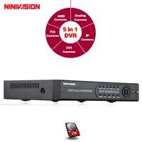 CCTV 8 Channel Full AHD NH Standalone DVR Recorder 8ch Security H 264 Hybrid AHD NH
