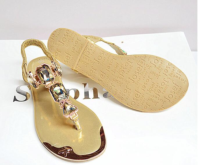 HTB16AdGXiMnBKNjSZFoq6zOSFXa9 Woman Sandals 2019 fashion high quality Rhinestone women flip flops shoes ladies casual summer beach shoes