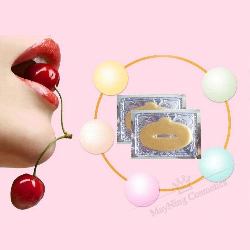 50pcs Lip Mask Crystal Collagen Mask Patches Pads Lip Plumper Anti Wrinkle Moisturizing Lip Care Beauty Comsmetic