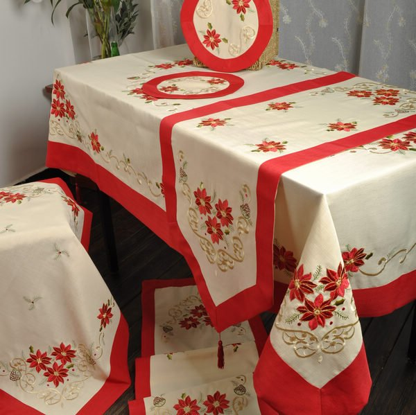 Aliexpress.com : Buy Holiday Red! Christmas Decoration/antependium .
