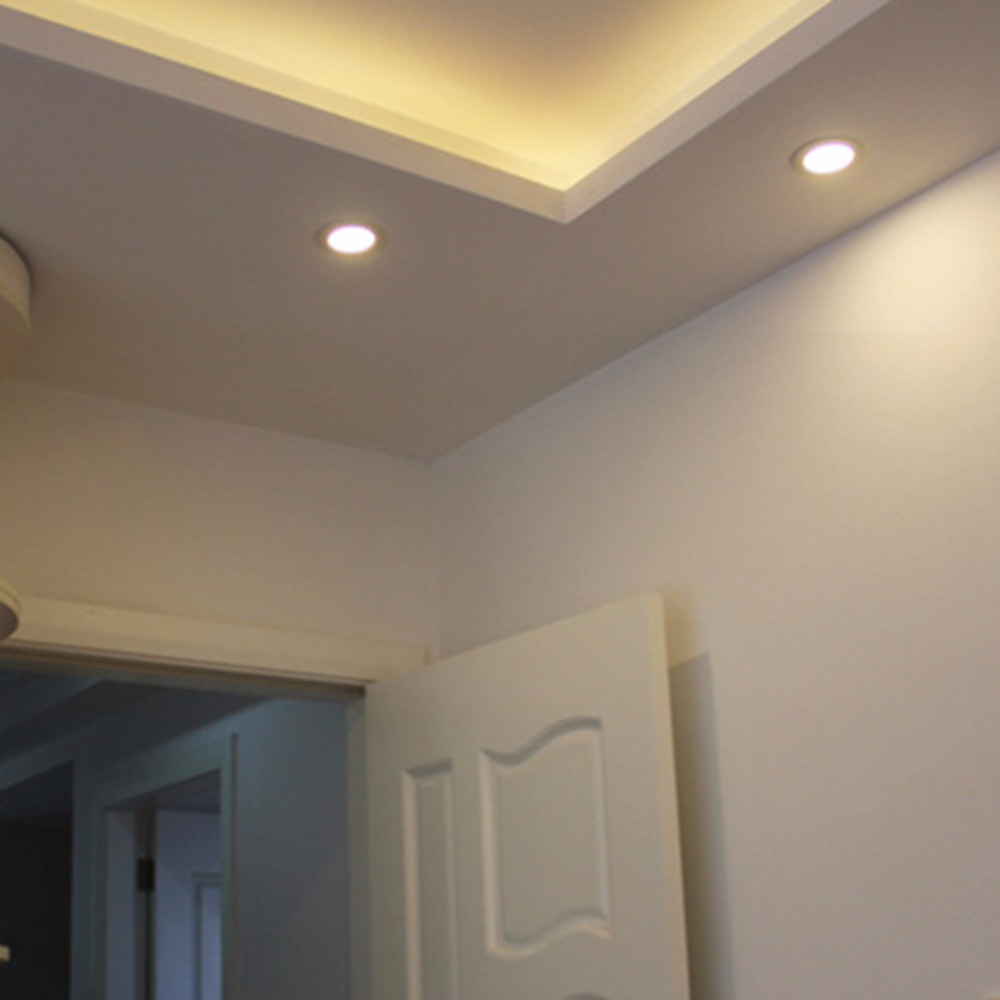 4w Ultra Thin Dimmable Led Recessed Ceiling Panel Down
