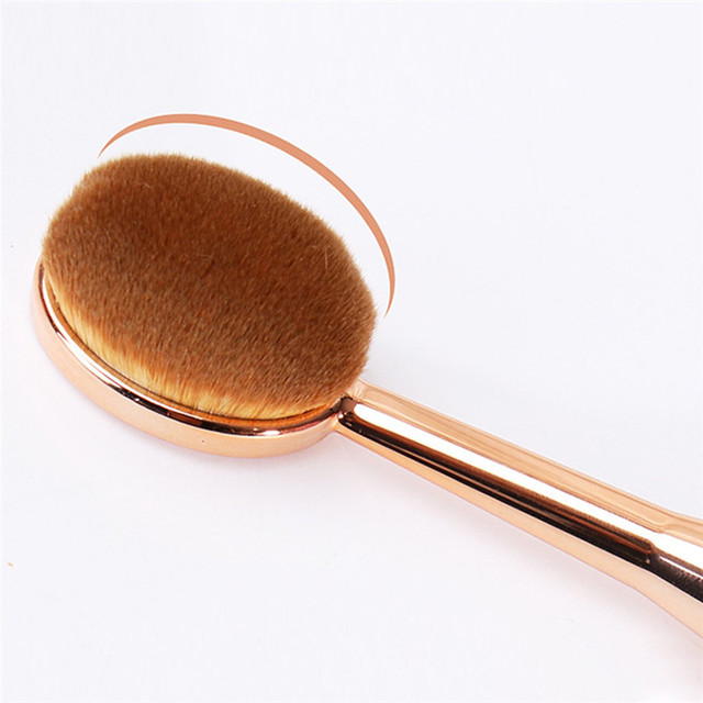 MAANGE Makeup Brush 1 PCS Toothbrush The New Mermaid Makeup Brush Foundation Oval Brushes One Set td0804 dropship