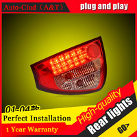 Car Styling for Audi A6 Taillights 2001 2004 for A6 LED Tail Lamp Rear Lamp DRL+Brake+Park+Signal led lights