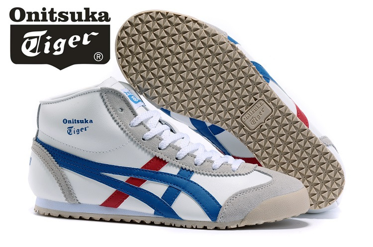 286eef5c3e1 ONITSUKA TIGER THL328-0113 MEXICO Mid Runner Classics Shoes Men Women  Sneakers Badminton Sports Shoes