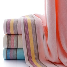 New Luxury Thicken 34*74cm Hand Face Towel Cotton Bath Serviette Adulte Embroidery Womens Large Beach Towels 70x140cm