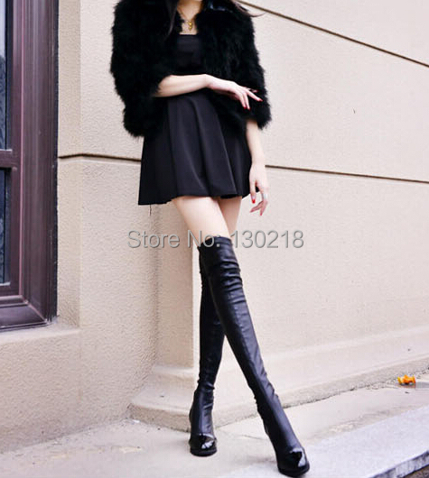 Aliexpress.com : Buy High Leg Boots leg slimming knee boots high ...