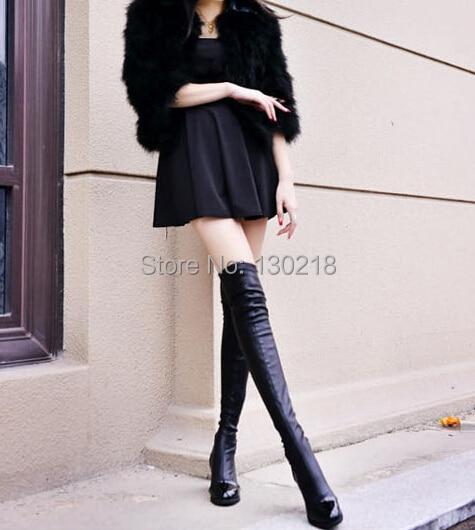 Aliexpress.com : Buy High Leg Boots leg slimming knee boots high ...