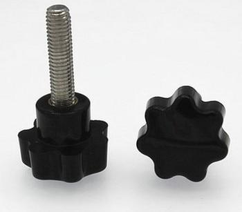 200meter/lot M8X25 Stainless Steel Plastic Head Hand Screw