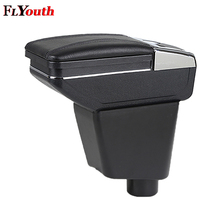 Car Armrest Box Central Store Content Cup Holder Interior Car-Styling Accessory Part For Renault Kaptur Captur QM3 2014-2017