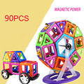 90pcs Magnetic Blocks Children Educational Magnetic Designer Fight Inserted Buidling Toy for Kids