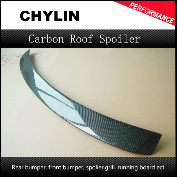 Hot Sale 2008-2013 Carbon Fiber W204 Rear Roof Spoiler Fit For Mercedes-Benz W204 C Class Roof Spoiler car accessories frp fiber glass origin lab style roof spoiler fit for 1992 1997 rx7 fd3s rear roof wing