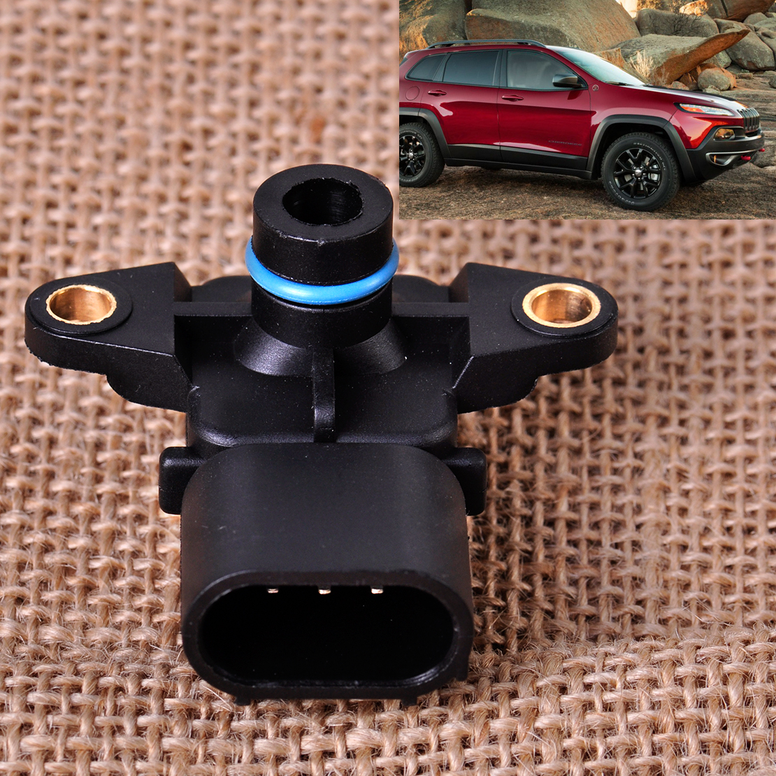 Citall 56041018ab 68002763aa manifold absolute pressure map sensor fit for chrysler town country dodge caravan jeep wrangler