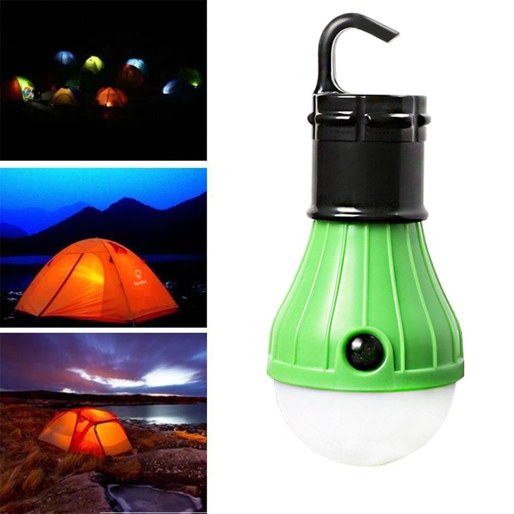 Портативный открытый висит палатка мягкого света светодиодные лампы Водонепроницаемый лампа Фонари Ночные светильники Работает на 3 * AAA Ба... ...