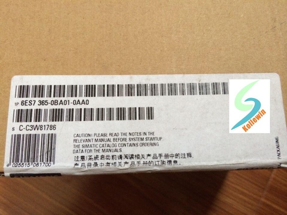 Original SIMATIC S7-300 6ES7365-0BA01-0AA0 Interface Module 6ES73650BA010AA0 6ES7 365-0BA01-0AA0 NEW  Free Shipping